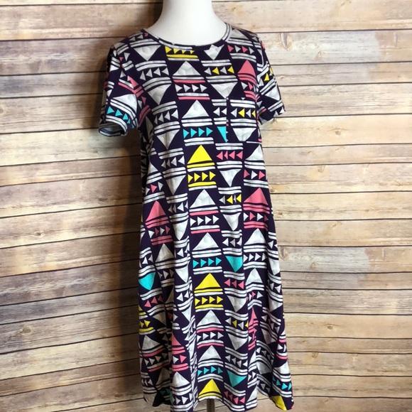 LuLaRoe Dresses & Skirts - Aztec Carly dress!
